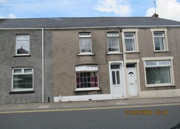 Thumbnail 3 bed terraced house to rent in Mill Street, Maesteg, Bridgend.