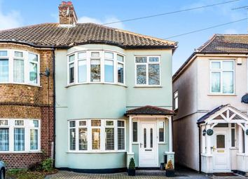 Thumbnail 3 bed semi-detached house for sale in Havering-Atte-Bower, Romford, Essex