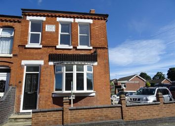 Thumbnail 2 bed flat for sale in Shilton Road, Barwell, Leicester