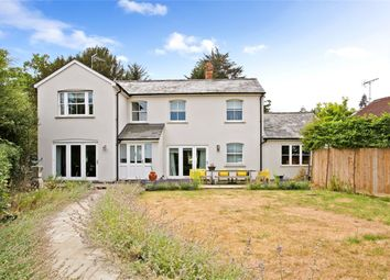 Thumbnail 4 bed detached house to rent in Old Frensham Road, Lower Bourne, Farnham