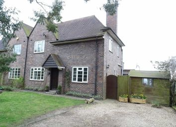 Thumbnail 3 bed semi-detached house for sale in Watling Street, Hinckley