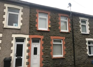 Thumbnail 3 bed terraced house to rent in Sarah Street, Merthyr Vale, Merthyr Tydfil