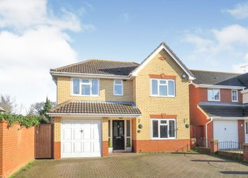 Thumbnail 4 bed detached house for sale in Aston Close, Westbourne, Ipswich