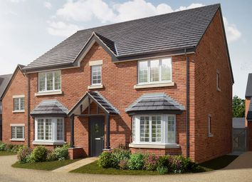 """Thumbnail 5 bed detached house for sale in """"The Attingham"""" at Holden Close, Biddenham, Bedford"""