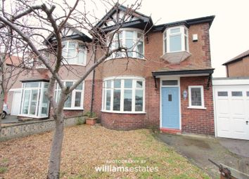 Thumbnail 3 bed semi-detached house for sale in Russell Road, Rhyl