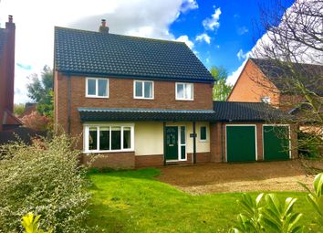 Thumbnail 4 bedroom detached house for sale in Norwich Road, Dereham