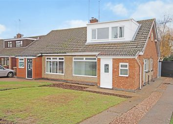 Thumbnail 3 bed semi-detached house for sale in Arnsby Crescent, Moulton, Northampton