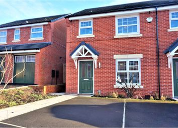 Thumbnail 3 bed end terrace house for sale in Ivy Grange Avenue, Salford