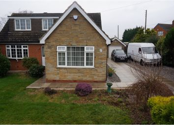 Thumbnail 3 bed detached bungalow for sale in North Road, Barnsley