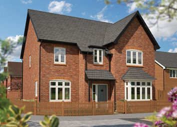 "Thumbnail 5 bed detached house for sale in ""The Birch"" at Newington Road, Stadhampton, Oxford"