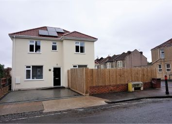 Thumbnail 3 bed detached house for sale in Bellevue Road, St George