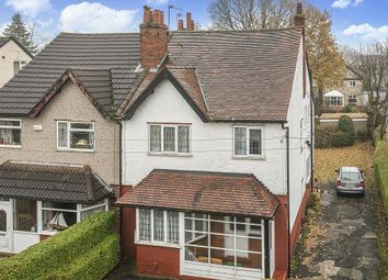 Thumbnail 3 bed semi-detached house for sale in Allerton Grove, Moortown, Leeds
