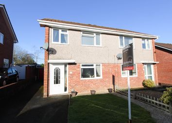Thumbnail 3 bed semi-detached house for sale in Swan Gardens, Plympton, Plymouth