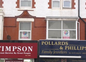 Thumbnail 1 bed flat to rent in Victoria Road West, Thornton Cleveleys, Lancs