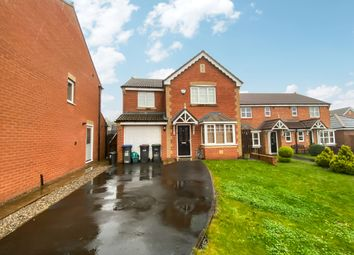 Thumbnail 4 bed detached house for sale in Cottingham Grove, Thornley, Durham