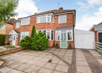 Thumbnail 3 bed semi-detached house for sale in Queensgate Drive, Birstall, Leicester, Leicestershire