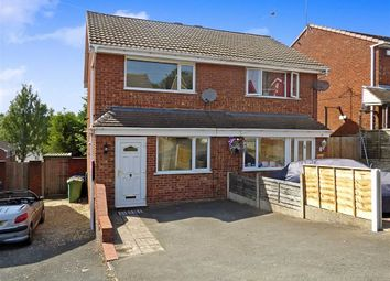 Thumbnail 2 bed semi-detached house for sale in Beverley Hill, Cannock, Staffordshire