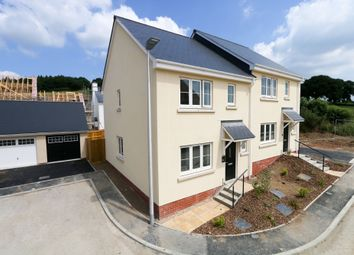 Thumbnail 3 bed detached house for sale in Aggett Grove, Bovey Tracey, Newton Abbot