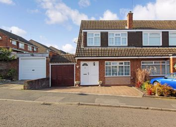 Thumbnail 3 bed semi-detached house to rent in Hasketon Drive, Luton