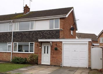 Thumbnail 3 bed end terrace house for sale in Poplar Avenue, Lutterworth