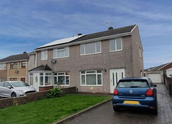 Thumbnail 3 bed semi-detached house to rent in Brookway Close, Baglan, Port Talbot