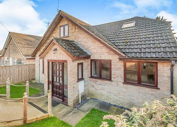 Thumbnail 3 bed detached house for sale in Wood Road, Kings Cliffe, Peterborough