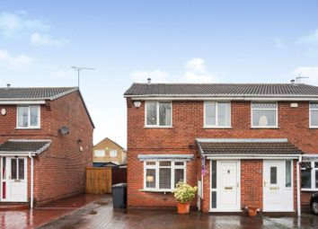 Thumbnail 3 bed semi-detached house for sale in Bicester Avenue, Derby