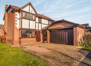 Thumbnail 4 bed detached house for sale in Fernleigh, Leyland