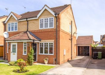 Thumbnail 2 bed semi-detached house for sale in Morehall Close, York, North Yorkshire