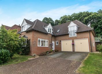 Thumbnail 4 bed detached house for sale in Weatherall Close, Dunkirk, Faversham