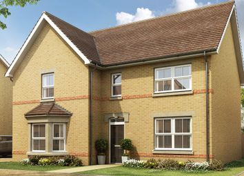 "Thumbnail 4 bed detached house for sale in ""Knightsbridge"" at Station Road, Longstanton, Cambridge"