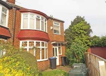 Thumbnail 3 bedroom semi-detached house for sale in Welburn Avenue, Middlesbrough, North Yorkshire