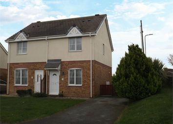 Thumbnail 2 bed semi-detached house for sale in Garth Y Felin, Valley, Holyhead, Anglesey