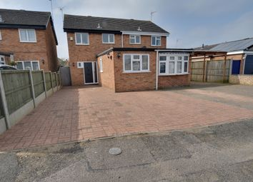 Thumbnail 3 bed semi-detached house for sale in Garden Leys, Leighton Buzzard, Bedfordshire