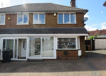 Thumbnail 3 bed semi-detached house for sale in Cattermole Grove, Great Barr, Birmingham