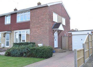 Thumbnail 3 bed semi-detached house for sale in Bathurst Road, Staplehurst, Tonbridge