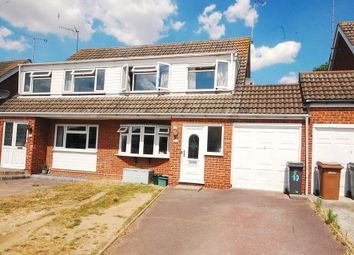 Thumbnail 4 bed semi-detached house for sale in Gaiger Close, Springfield, Chelmsford