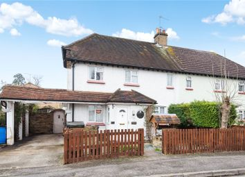 Thumbnail 3 bedroom semi-detached house for sale in Emley Road, Addlestone, Surrey