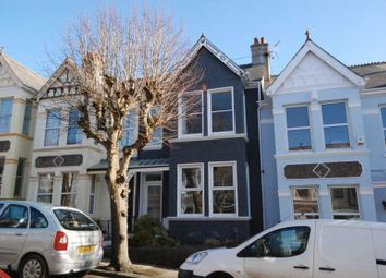 Thumbnail 3 bed terraced house to rent in Edgcumbe Park Road, Plymouth
