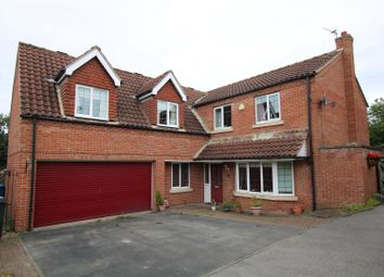 Thumbnail 5 bed detached house for sale in Hawthorne Close, Glentworth, Gainsborough