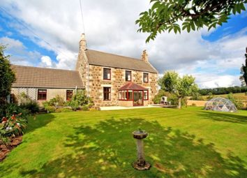 Thumbnail 4 bed detached house for sale in Pitcaple, Inverurie
