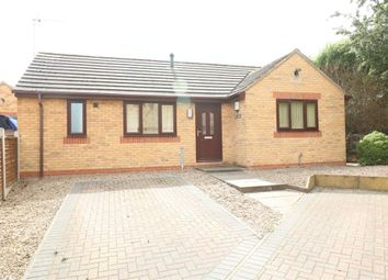 Thumbnail 2 bed detached bungalow to rent in Warren Hill, Rotherham, South Yorkshire
