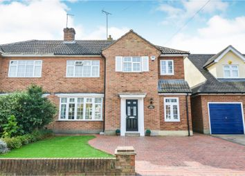 Thumbnail 4 bed semi-detached house for sale in Randalls Drive, Brentwood