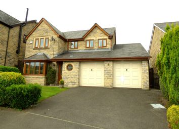 Thumbnail 4 bed detached house for sale in Alden Close, Helmshore, Rossendale