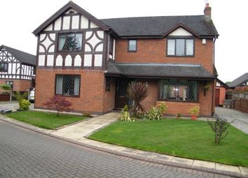 Thumbnail 4 bed detached house for sale in Hareswood Close, Winsford, Cheshire, England