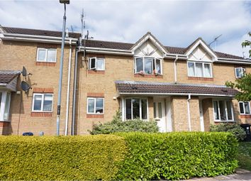 Thumbnail 1 bed terraced house for sale in Barnum Court, Swindon