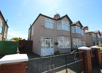 Thumbnail 3 bed semi-detached house for sale in Newborough Avenue, Crosby, Liverpool