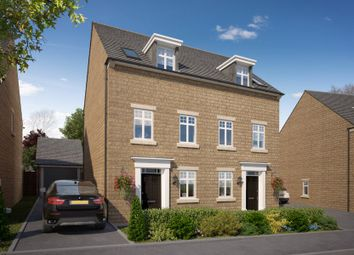 "Thumbnail 3 bed semi-detached house for sale in ""Greenwood"" at Alethea Farm Place, Tilbury Road, Tilbury Juxta Clare, Halstead"