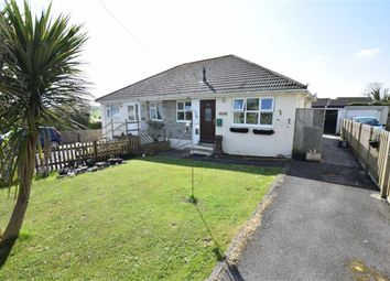 Thumbnail 1 bed semi-detached bungalow for sale in Woodley Close, Stratton, Bude