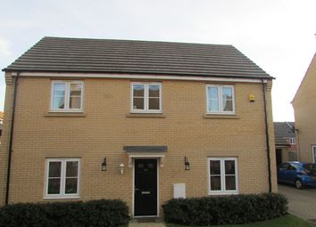 Thumbnail 4 bed detached house for sale in Venus Way, Peterborough